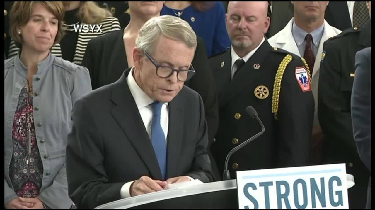 DeWine introduces his Ohio STRONG gun legislation