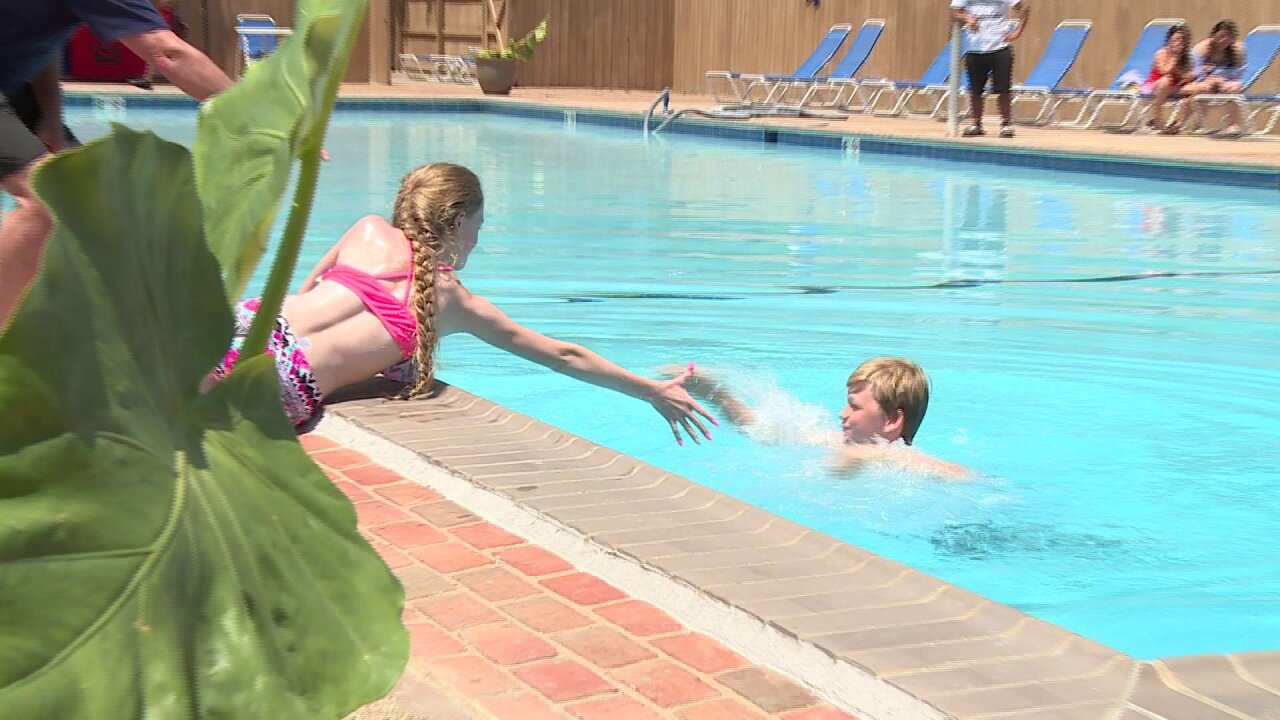 Crews stress 'don't go alone' as pools open for holidayweekend