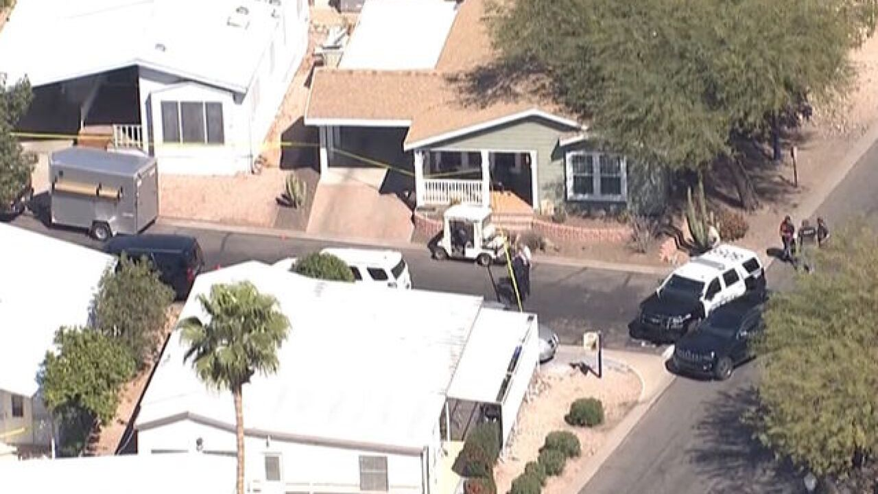 Mesa PD involved in shooting in east Mesa