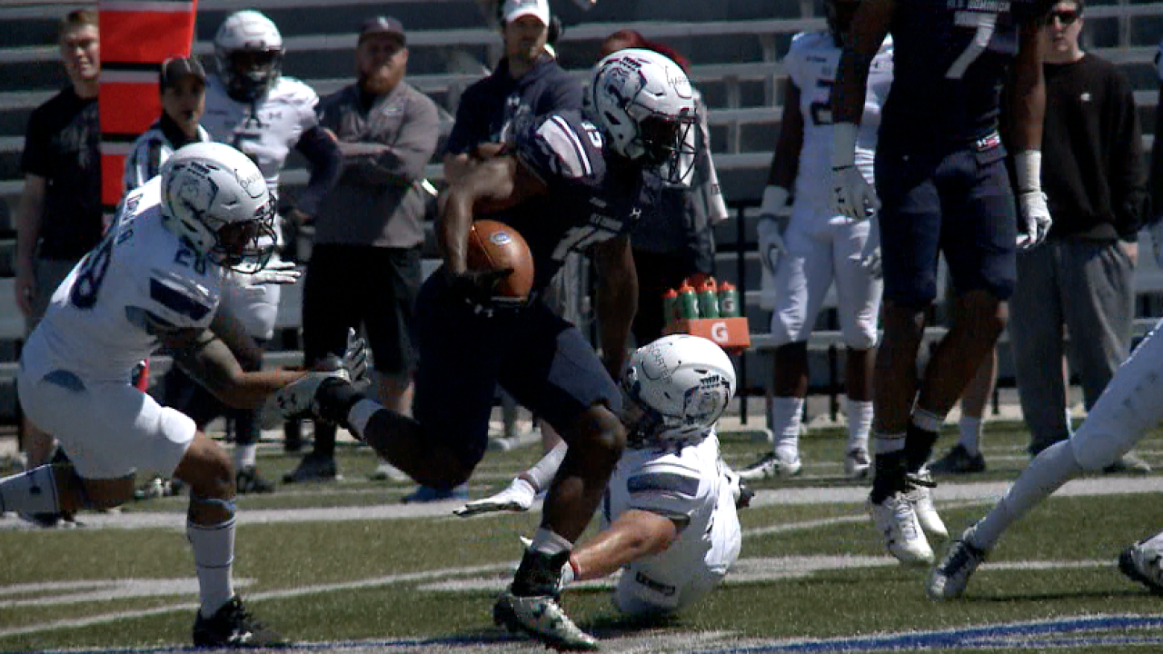 Home run play by Isaiah Harper highlights ODU football's first springscrimmage