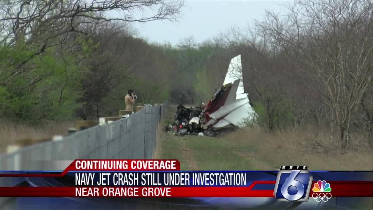 Orange Grove training-jet accident still under investigation