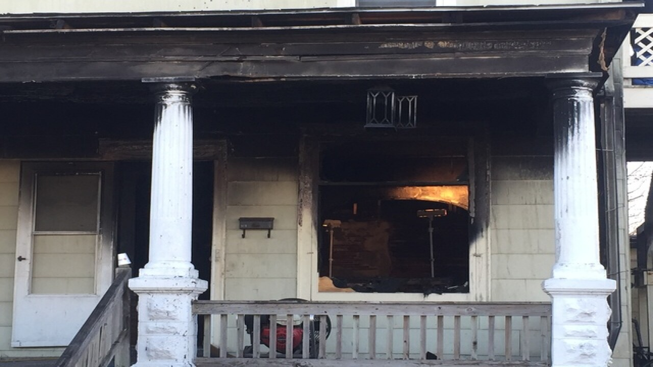 Coroner called to house fire in Carroll County