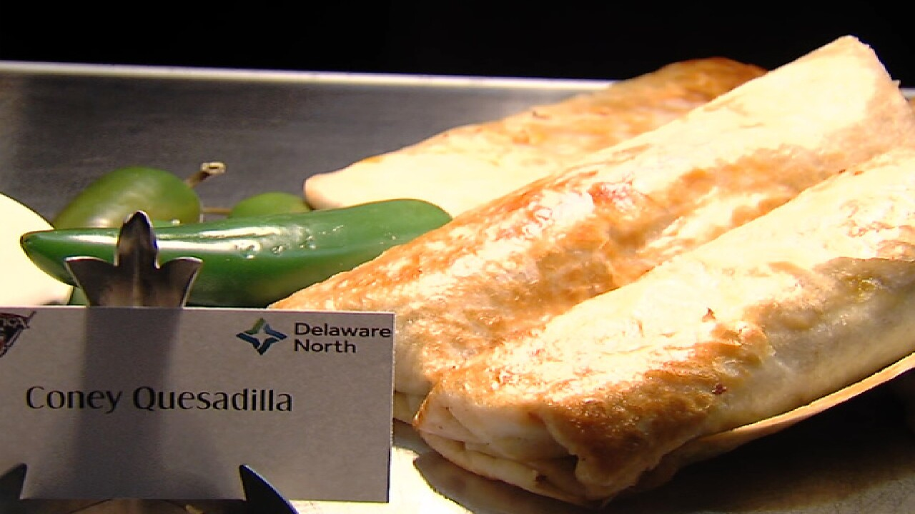 PHOTOS: New food items at Comerica Park