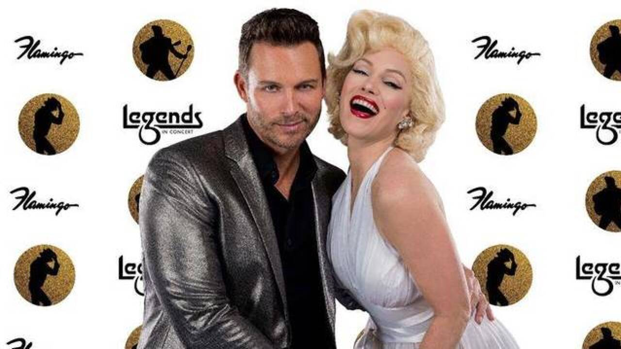 Eric Martsolf of 'Days of Our Lives' guest hosts 'Legends in Concert'