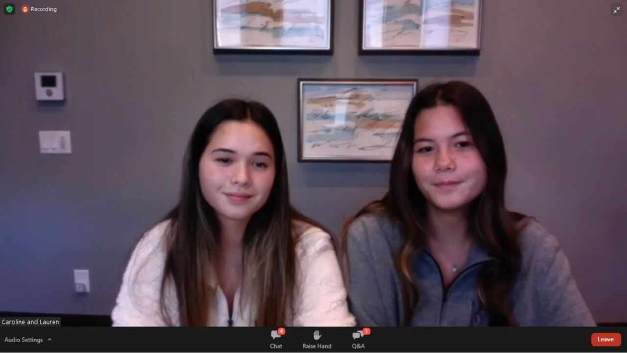 A group of students, teens and experts got together for a virtual meeting to discuss mental health amid the pandemic