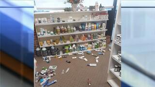 Kansas earthquake damage