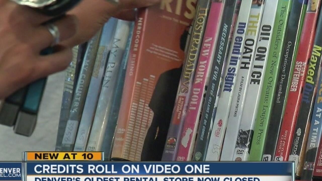 Denver's oldest video store calls it quits
