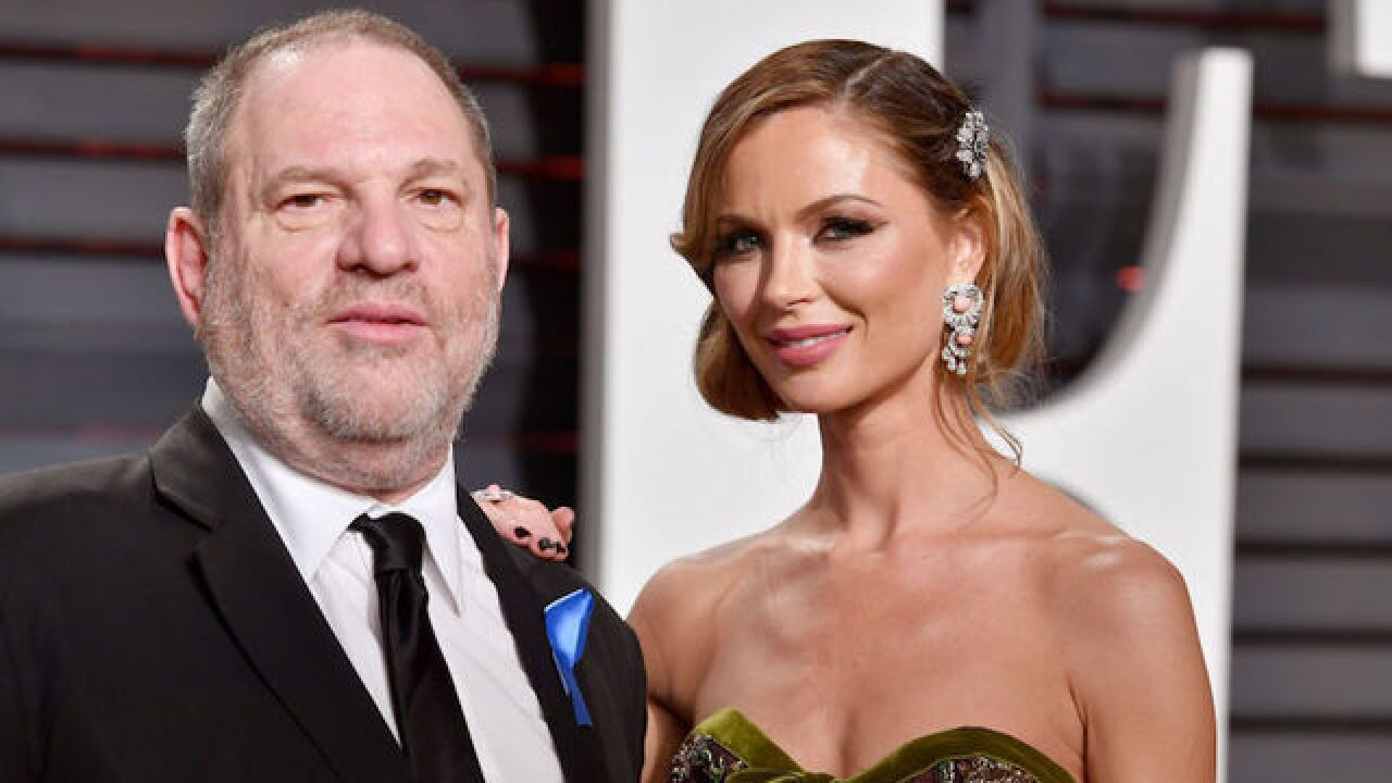 Harvey Weinstein's estranged wife breaks her silence
