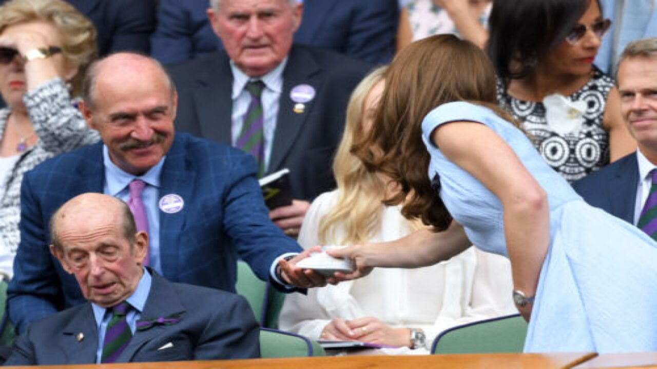Tennis Legend Stan Smith Gave Kate Middleton A Pair Of Tiny Sneakers For Prince Louis