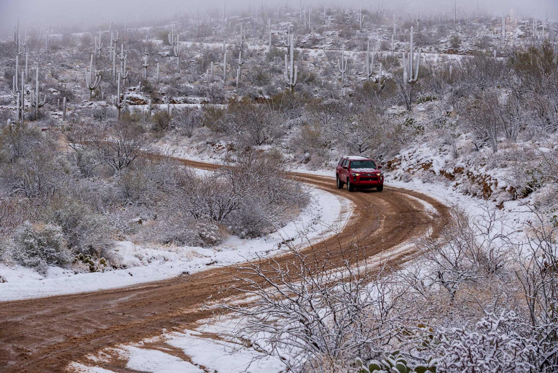 Snow at Reddington Pass
