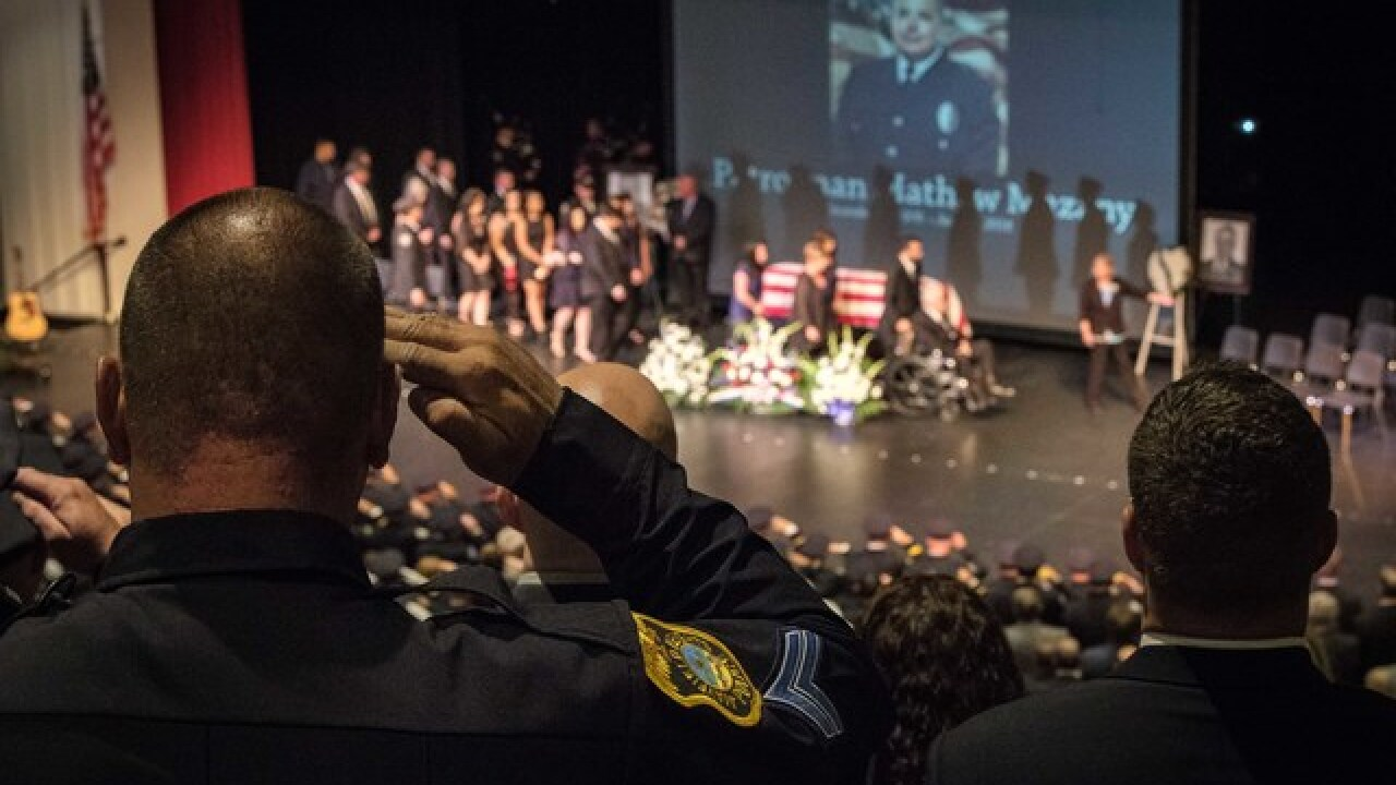 Funeral set for Mentor ofc. killed in hit-skip