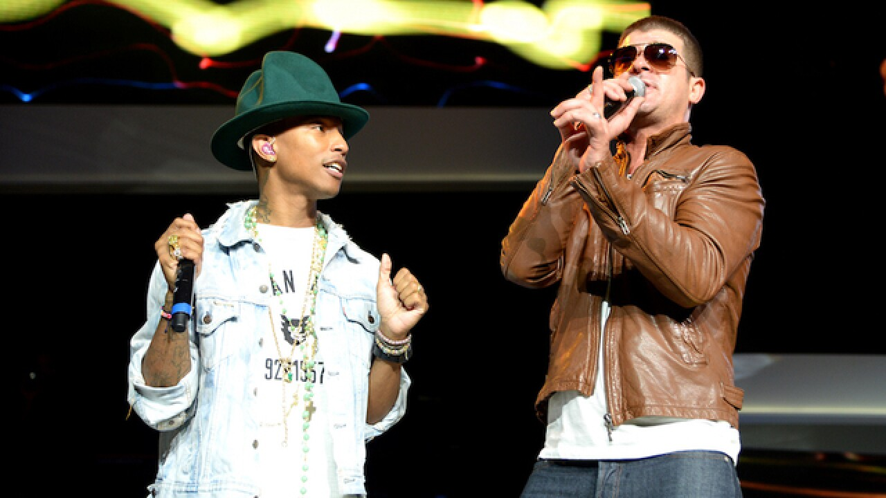 'Blurred Lines' lawsuit against Robin Thicke, Pharrell Williams ends in $5 million judgment