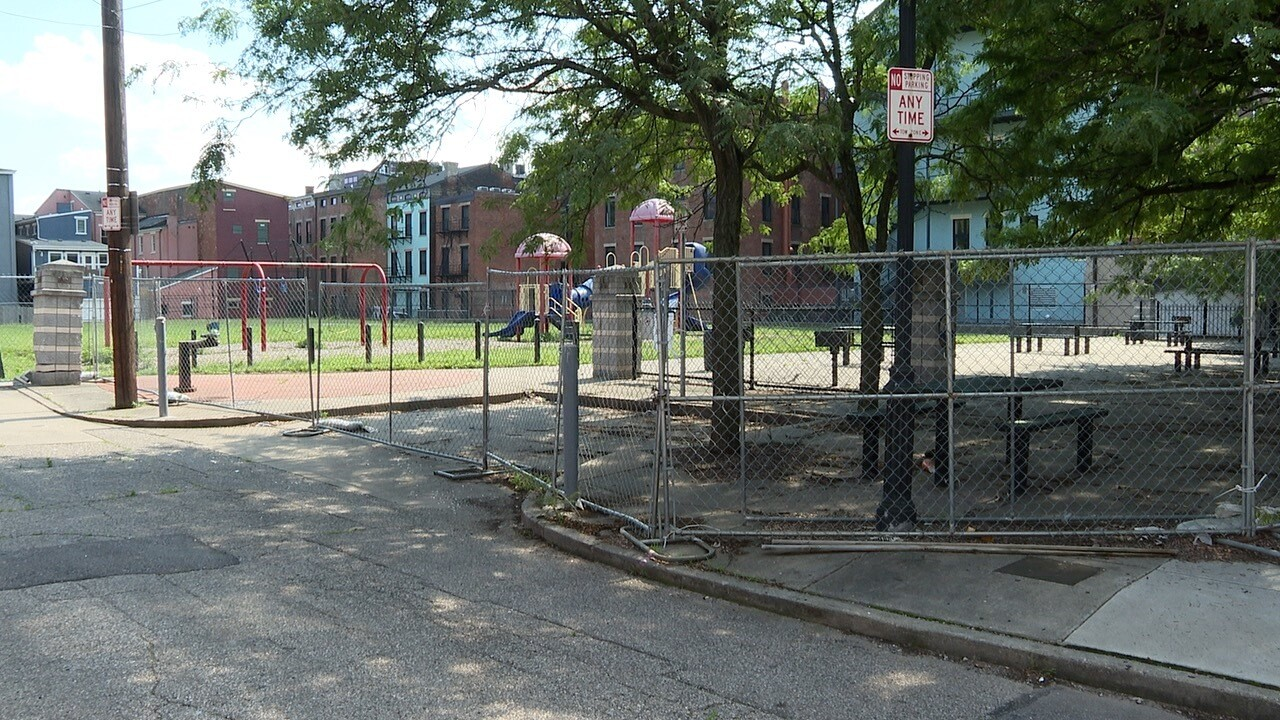 Findlay Playground with the Fences up.jpg
