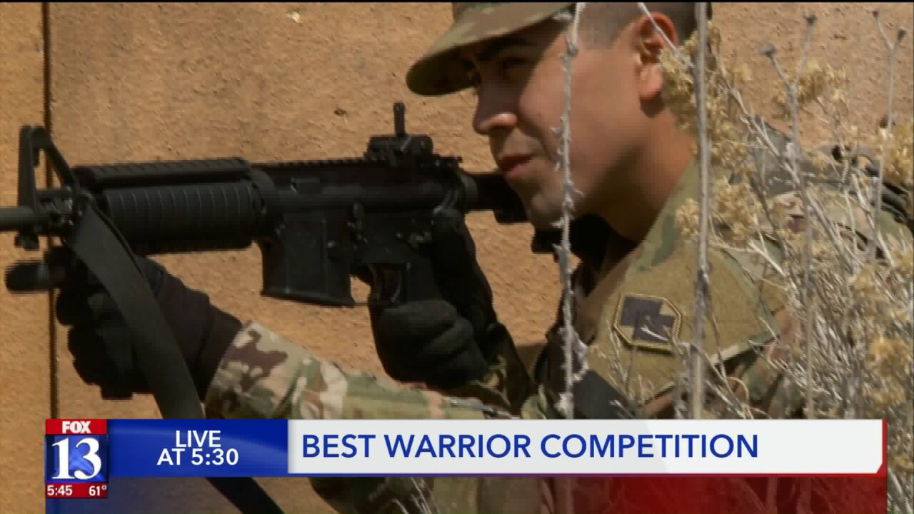 Army Reservists gun for Best Warrior prize at Camp Williams