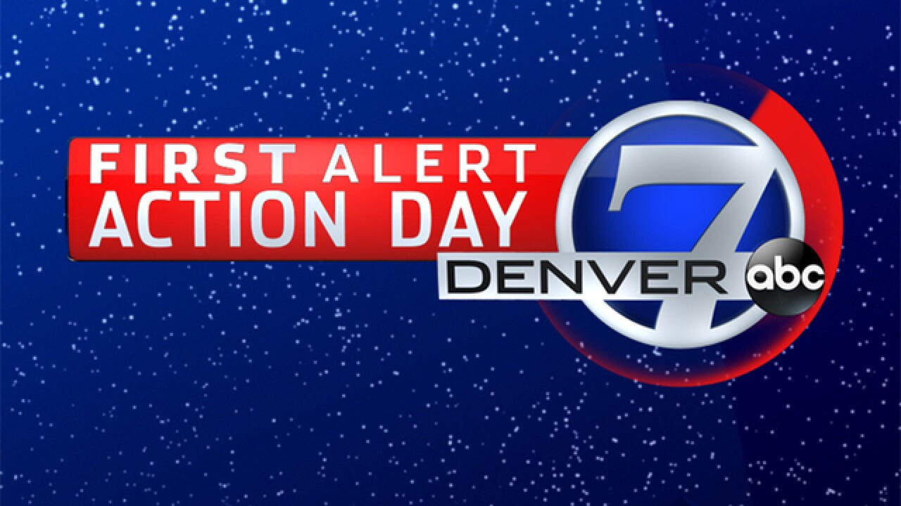 First Alert Action Day and more: 5 Things to Know for Monday, March 26, 2018