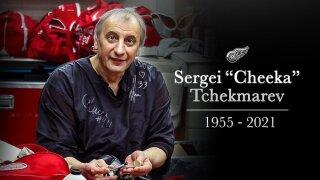 Detroit Red Wings Sergei Tchekmarev