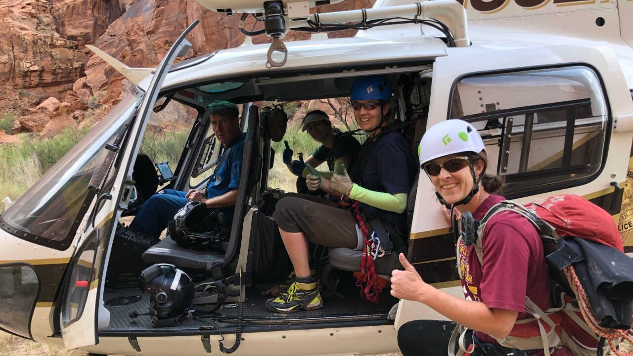 Trio of hikers found safe in Emery County