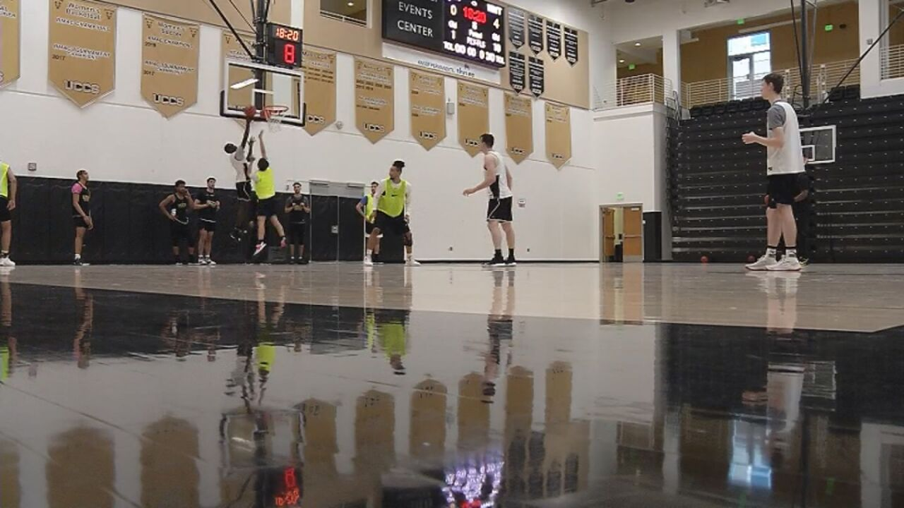 UCCS battles through adversity, ready for second half