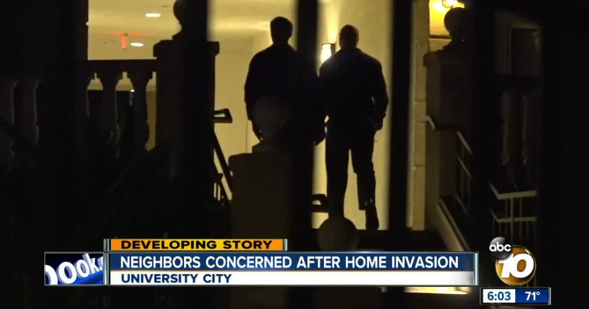 Neighbors Concerned After Home Invasion In University City