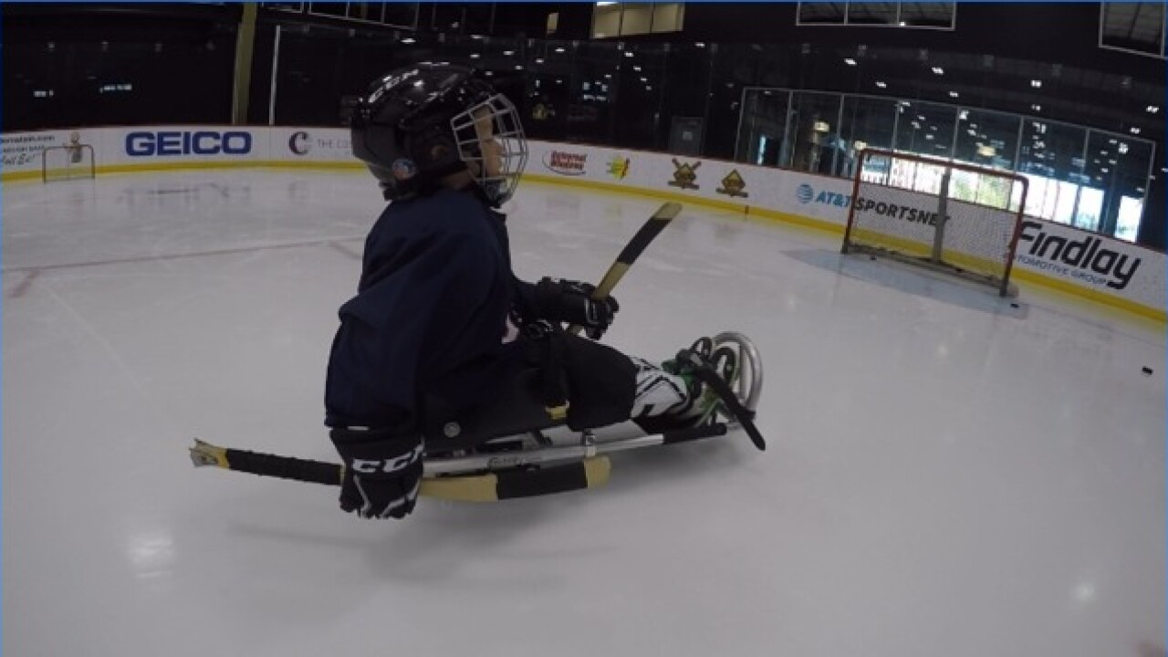 New youth sled hockey program hits City National