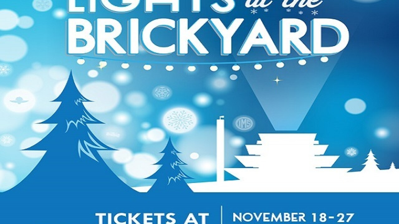 Tickets on sale for Lights at the Brickyard