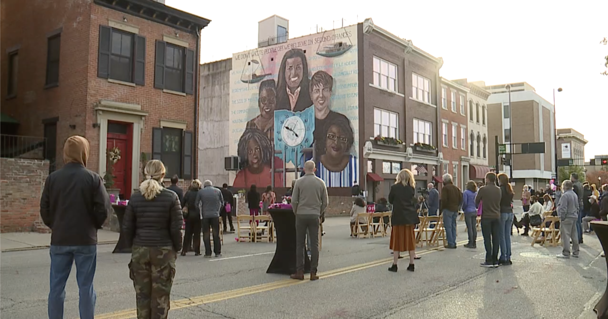 Artworks' 200th mural dedication highlights the importance of second chances