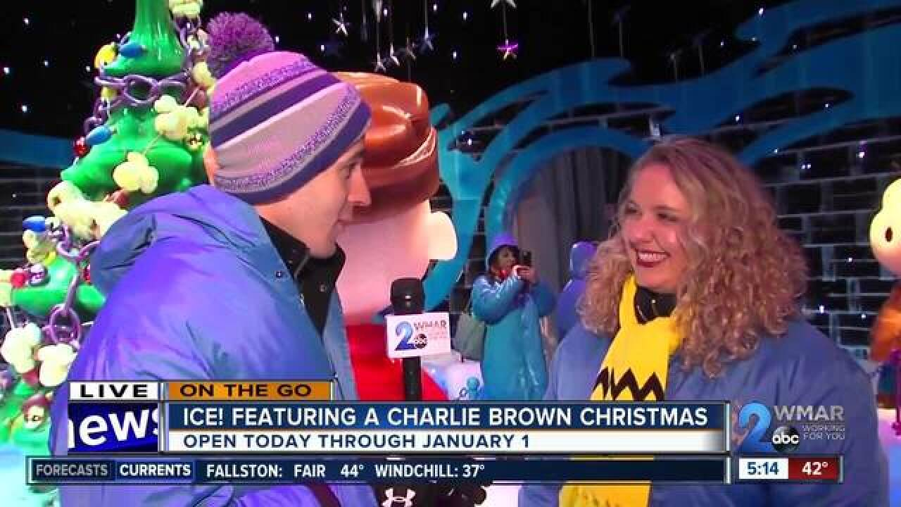 OTG: ICE! Featuring a Charlie Brown Christmas