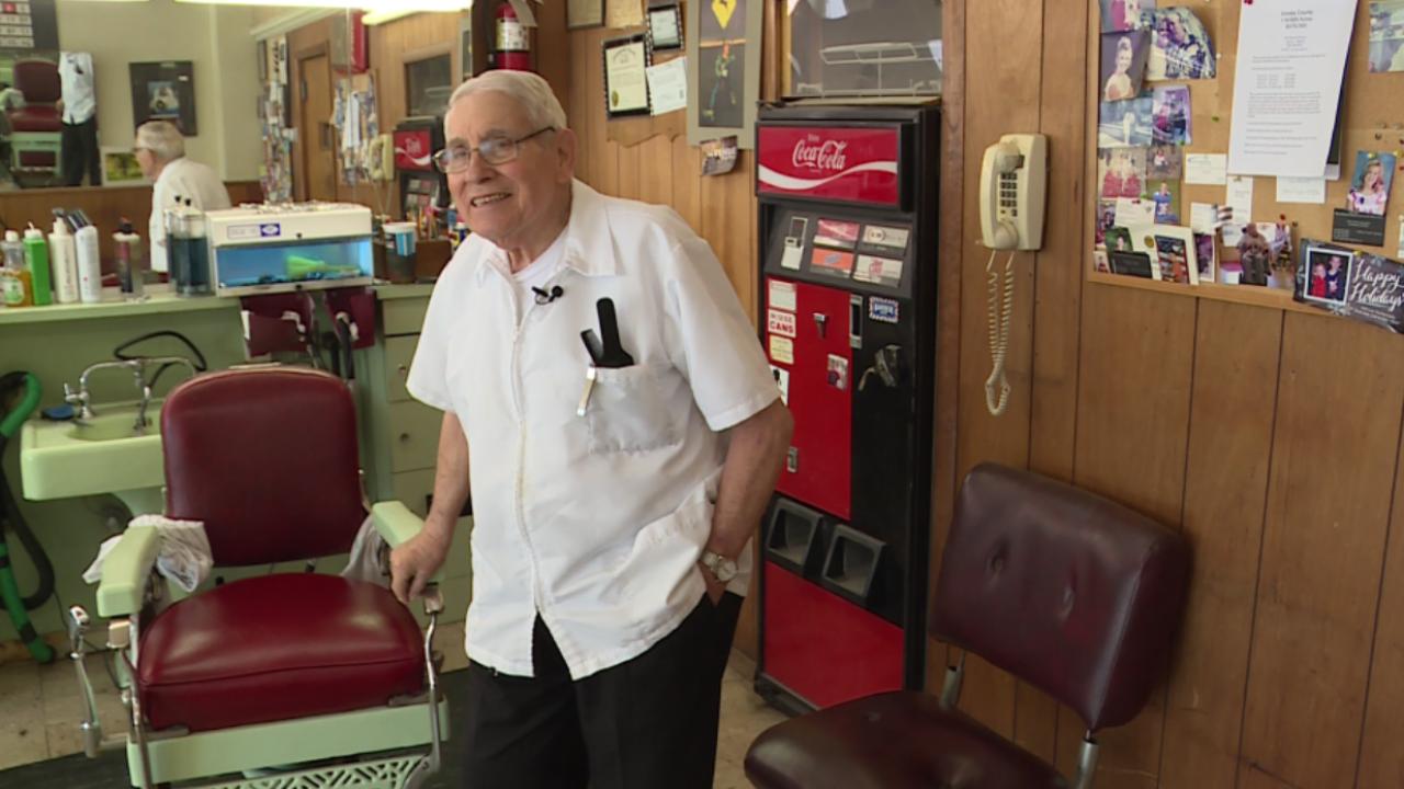 Legendary barber 'Mr. Adams' closing shop after 60 years inbusiness