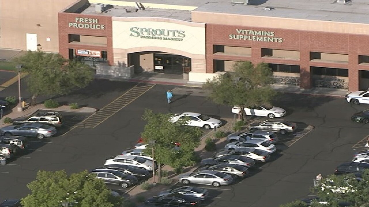 PD-involved shooting in Scottsdale parking lot