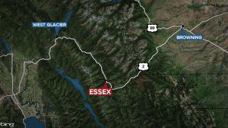 Essex Montana map