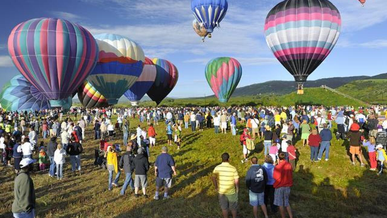 36th annual Hot Air Balloon Rodeo in Steamboat Springs ...