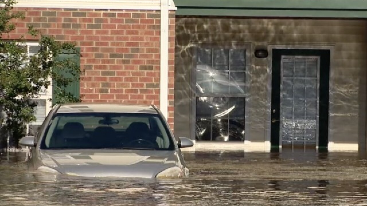 Neighbors take in stranger as floodwaters rise in North Carolina