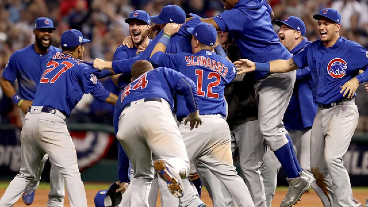 cd5d0d4196e Chicago Cubs win first World Series since 1908