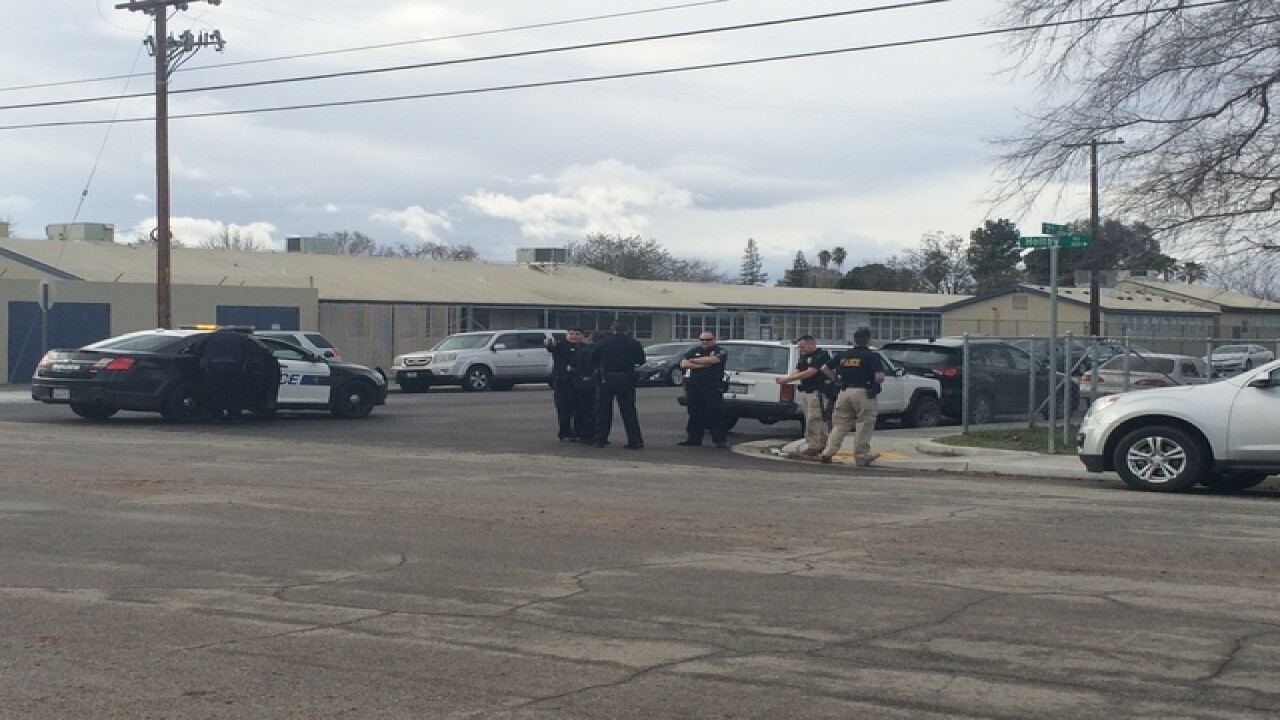 Roosevelt Elementary lockdown lifted, Bakersfield police have two