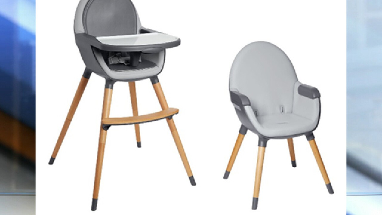 Skip Hop recalls thousands of high chairs for injury risk