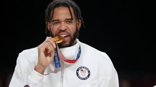 Like mother, like son: Javale McGee joins mom to make golden history