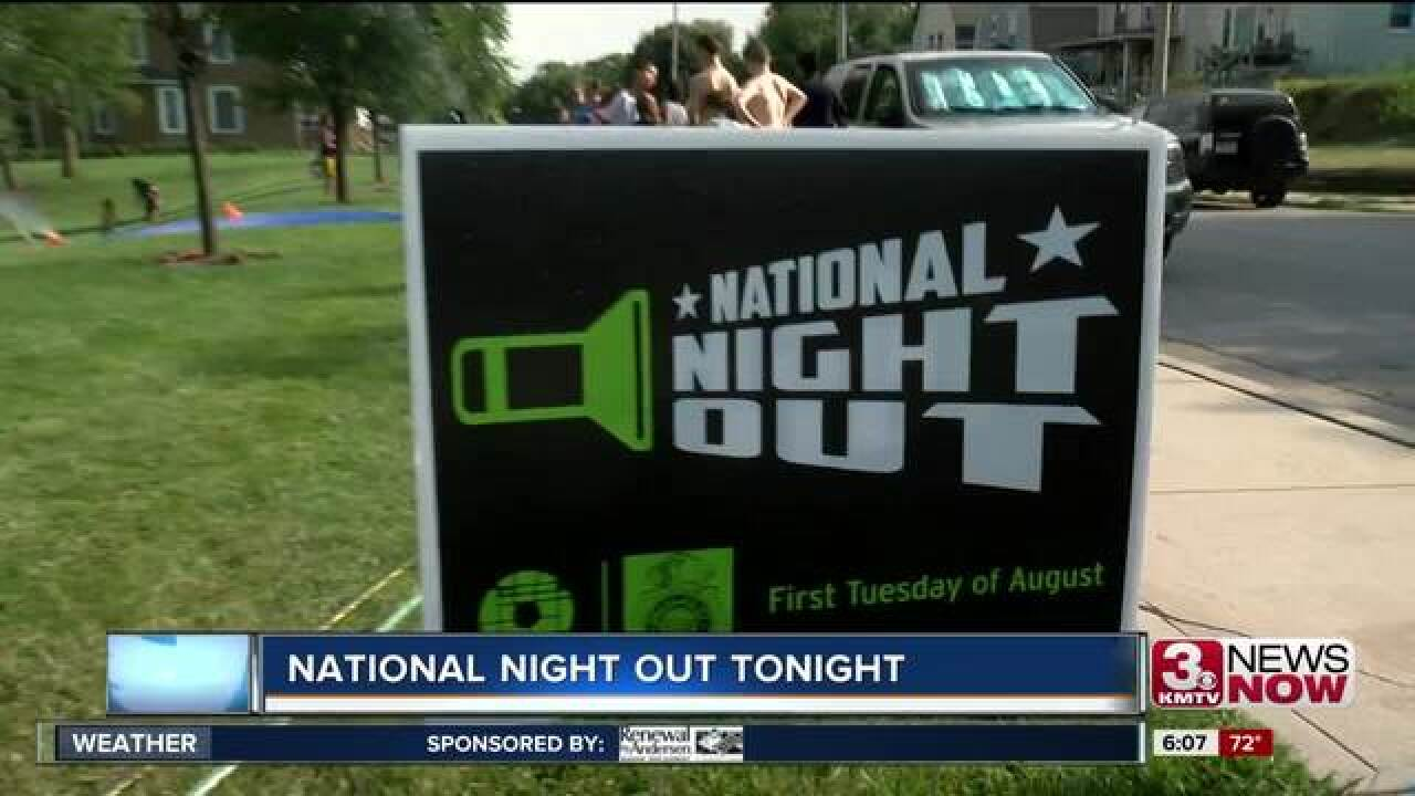 Omaha to celebrate National Night Out Tuesday