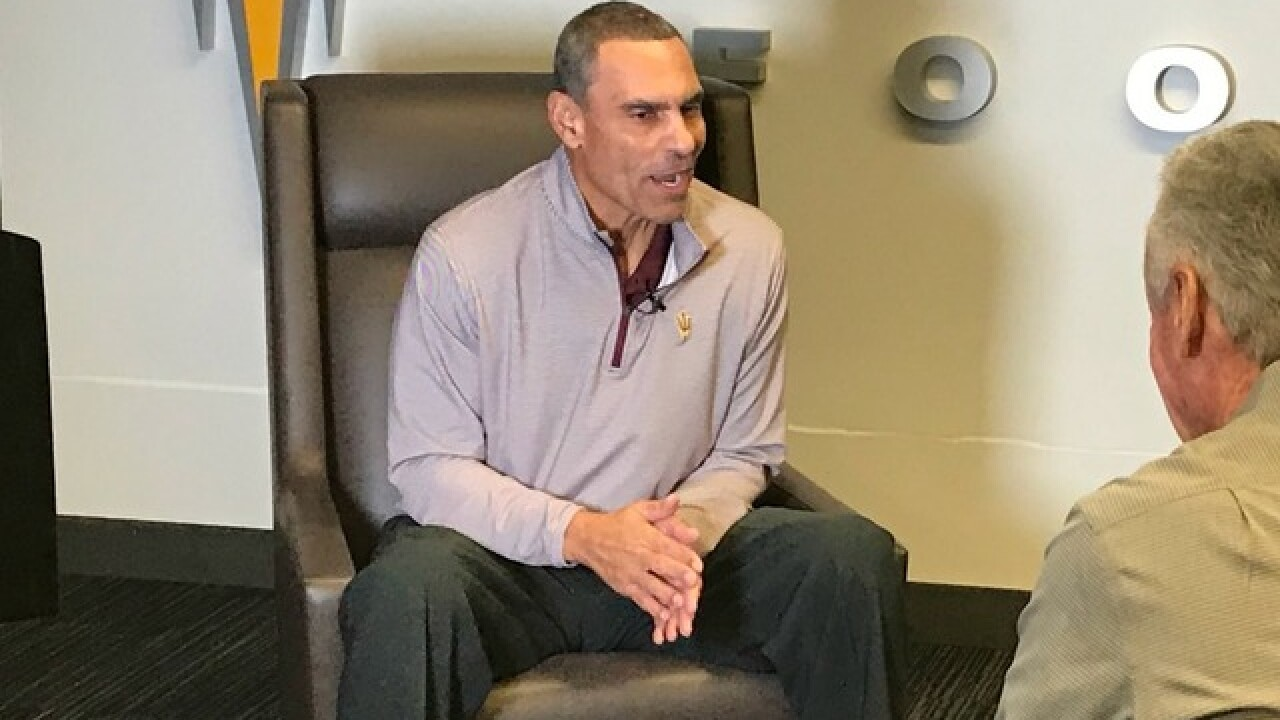 Herm Edwards talks Territorial Cup, Kevin Sumlin, and Wildcat billboards in the Valley