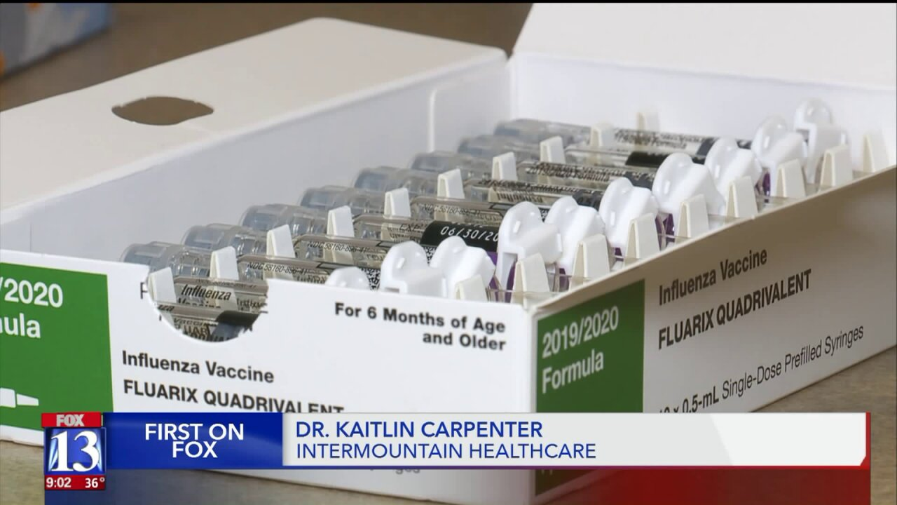 Utah experiencing increased influenza activity, uptick in hospitalizations