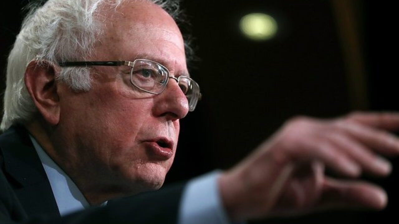 Sen. Sanders introduces bill to tax Walmart, Amazon for not paying employees a 'living wage'
