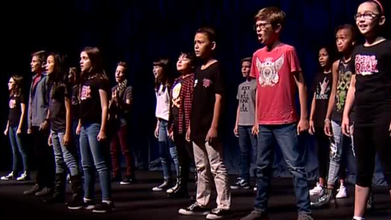Kids Shine In 'School Of Rock The Musical'