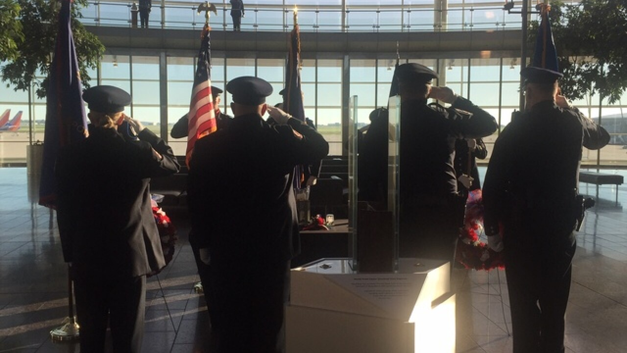 PHOTOS: Indy airport honors 9/11 victims
