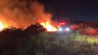 Another fire in rural Paso Robles, mobile home engulfed