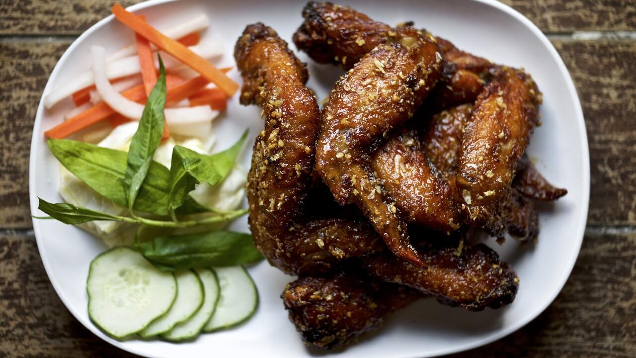 Pok Pok Wing: Ike's Vietnamese Fish Sauce Wings ($14)
