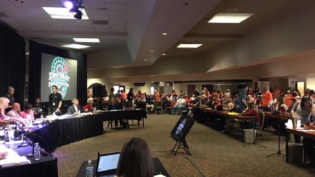 Supporters, opponents to speak on Del Mar fairgrounds gun show