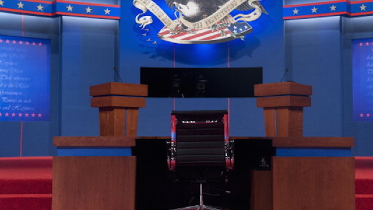 Trump v Clinton: the first presidential debate blog