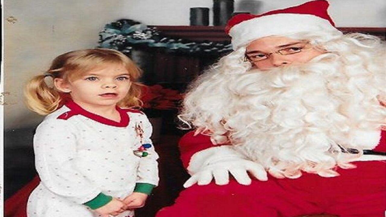 Kellie and Santa