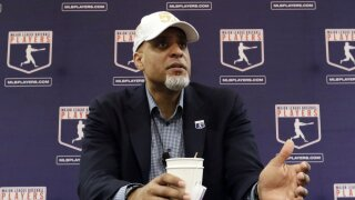 Major League Players Association Executive Director Tony Clark