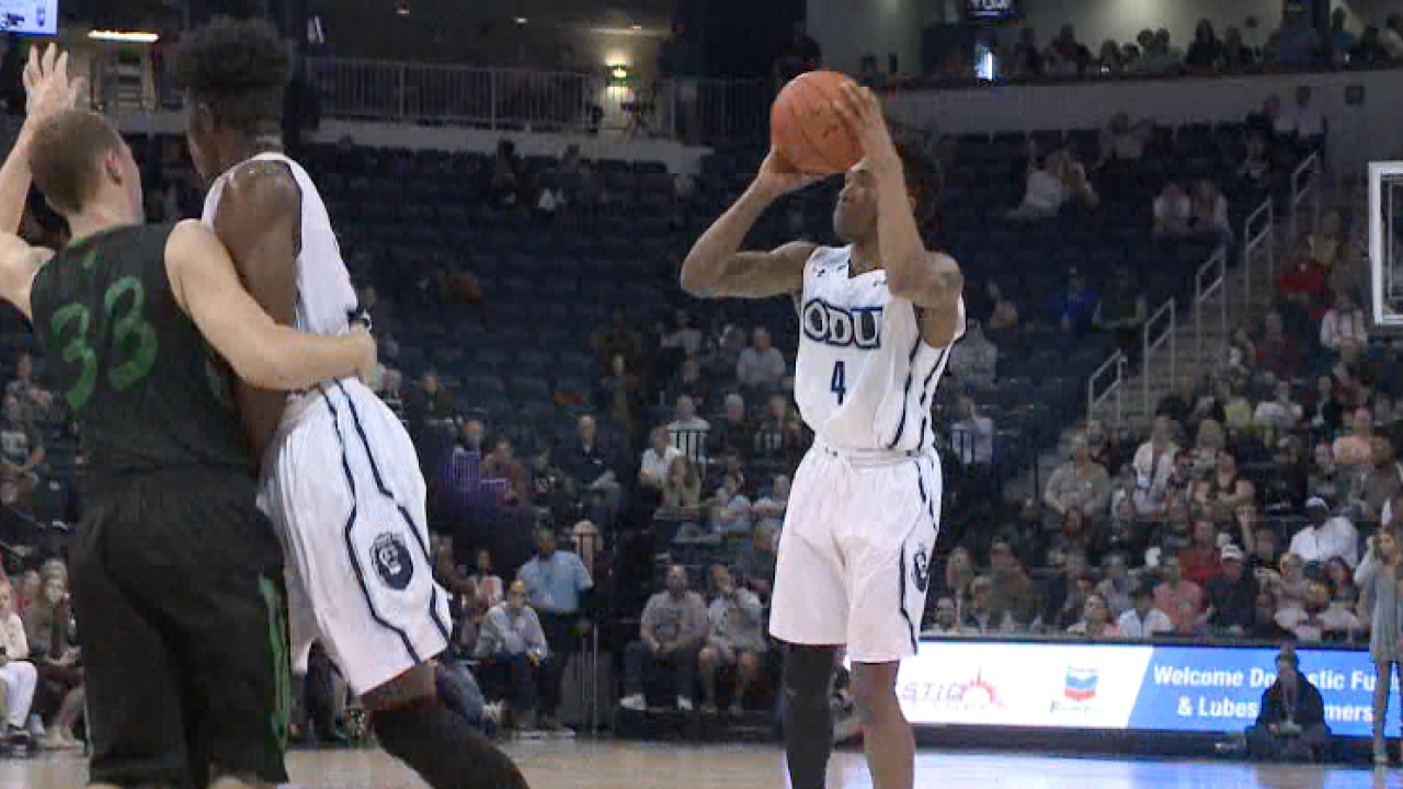 ODU routs Marshall for third straight 20+ point win