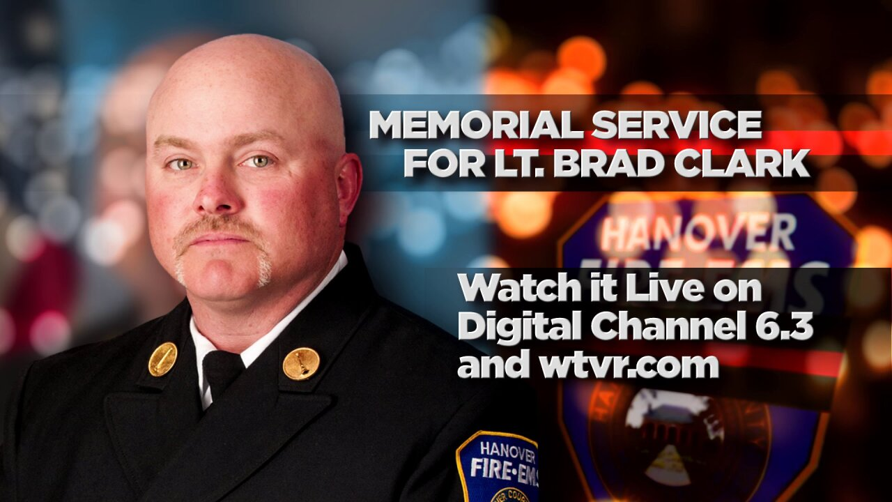 Watch memorial service for fallen Hanover firefighter Lt. Brad Clark
